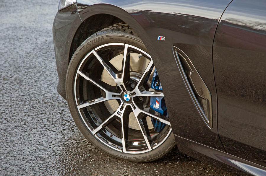 BMW 8 Series Coupé 2019 road test review - alloy wheels