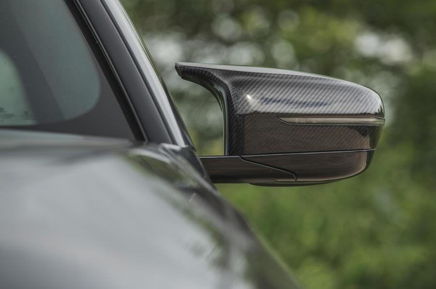 8 BMW M5 CS 2021 RT miroirs d'aile