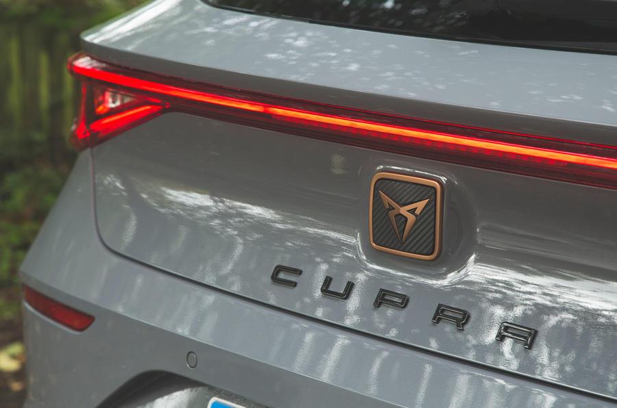 Cupra Leon 2020 road test review - rear lights