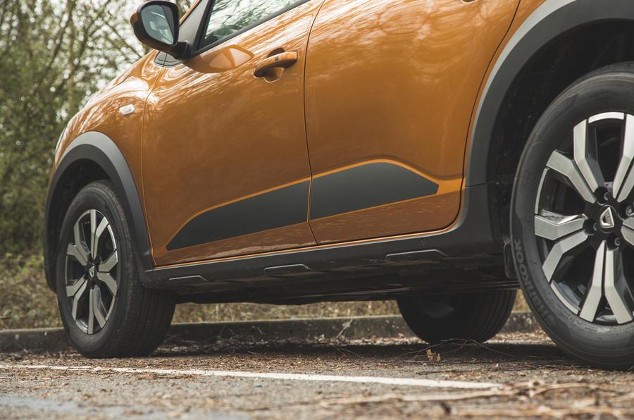 8 Habillage de la Dacia Sandero Stepway 2021 RT