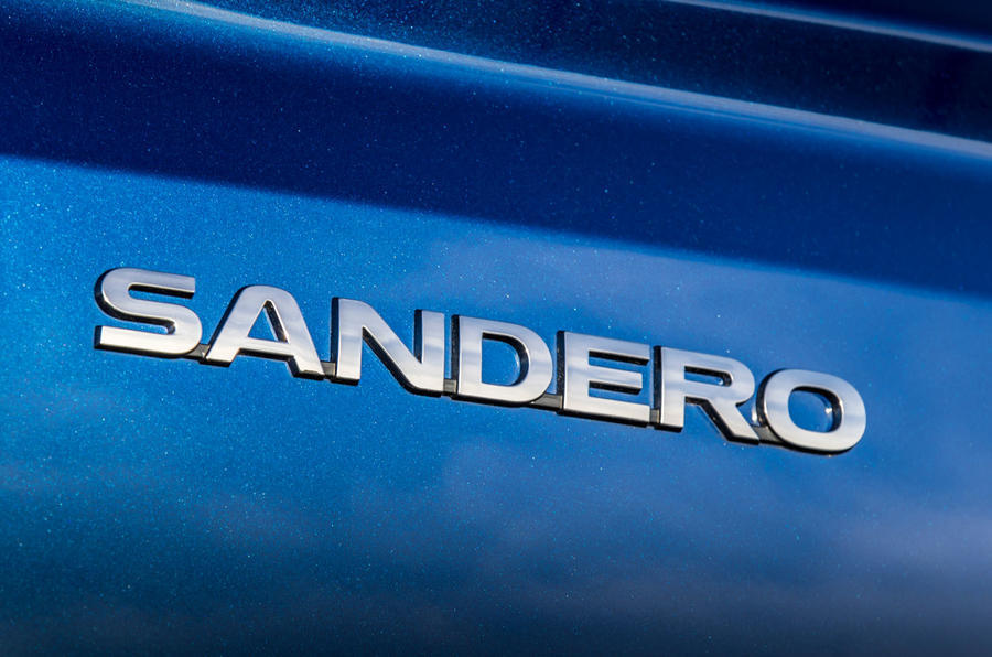 8 dacia sandero tce 90 2021 uk first drive review rear badge