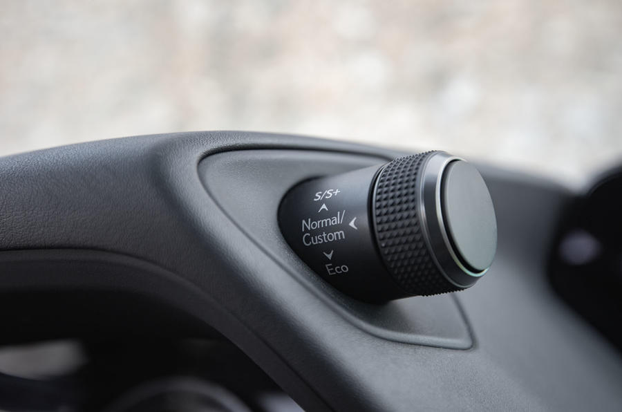 Lexus UX 2019 road test review - drive modes