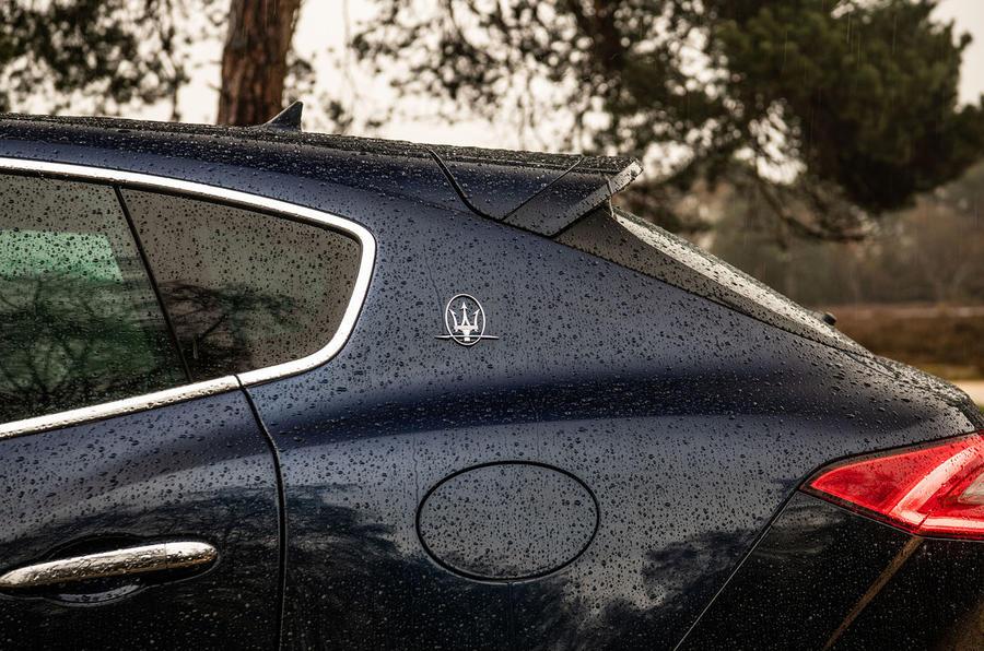 Maserati Levante S GranLusso 2019 road test review - rear quarters
