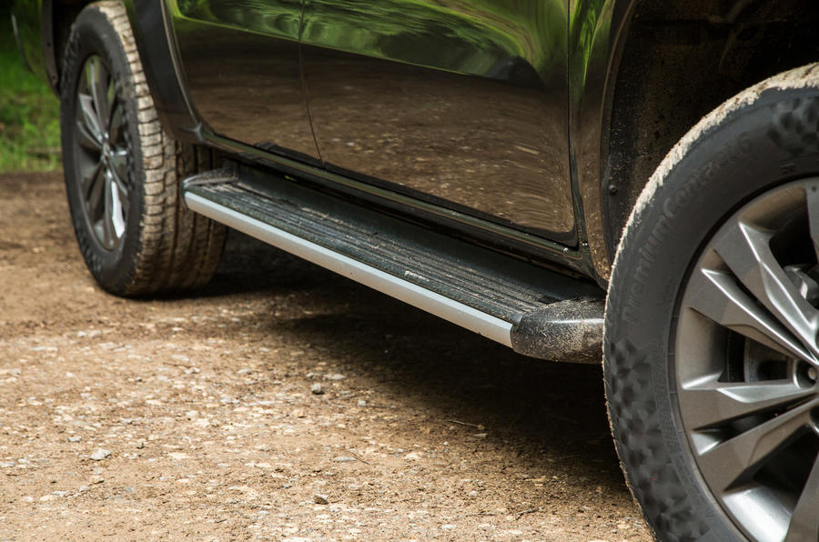 Mercedes-Benz X-Class road test review side sills