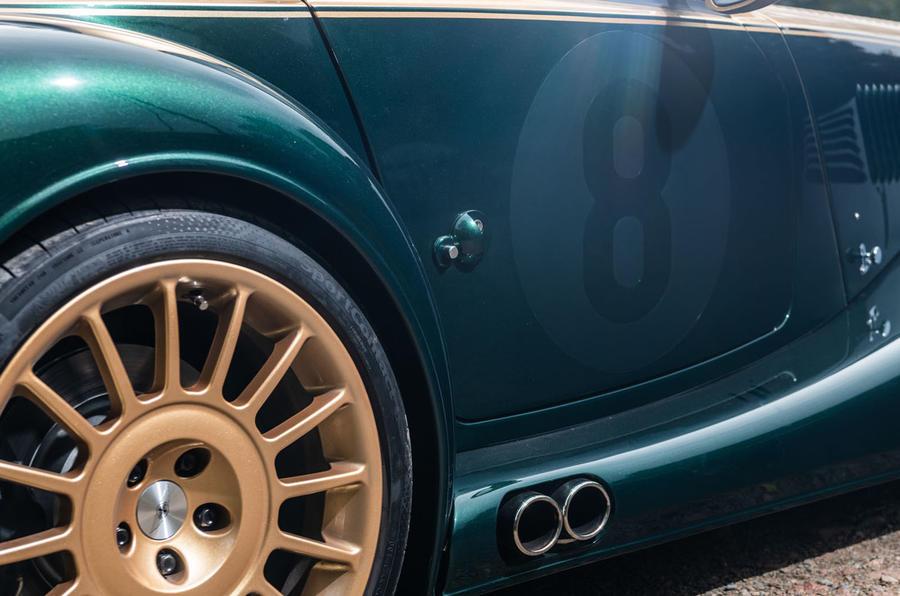 Morgan Aero GT 2018 review - alloy wheels