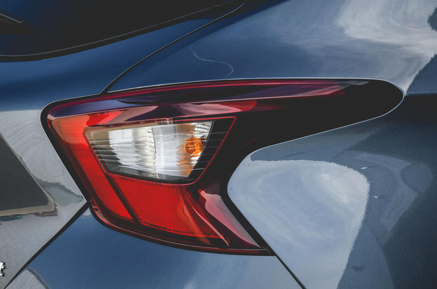 Nissan Micra N-Sport 2019 road test review - rear lights