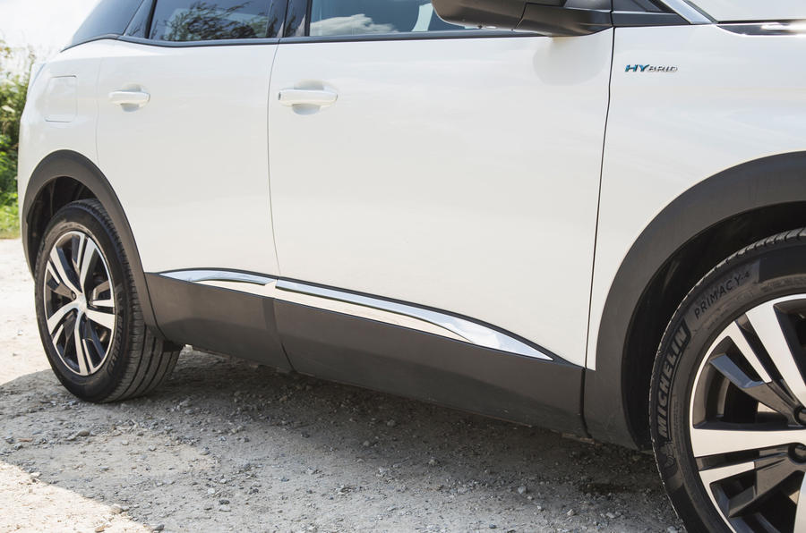 8 Jupes latérales Peugeot 3008 2021 RT