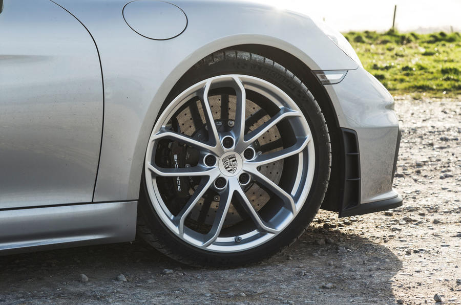 Porsche 718 Spyder 2020 road test review - alloy wheels