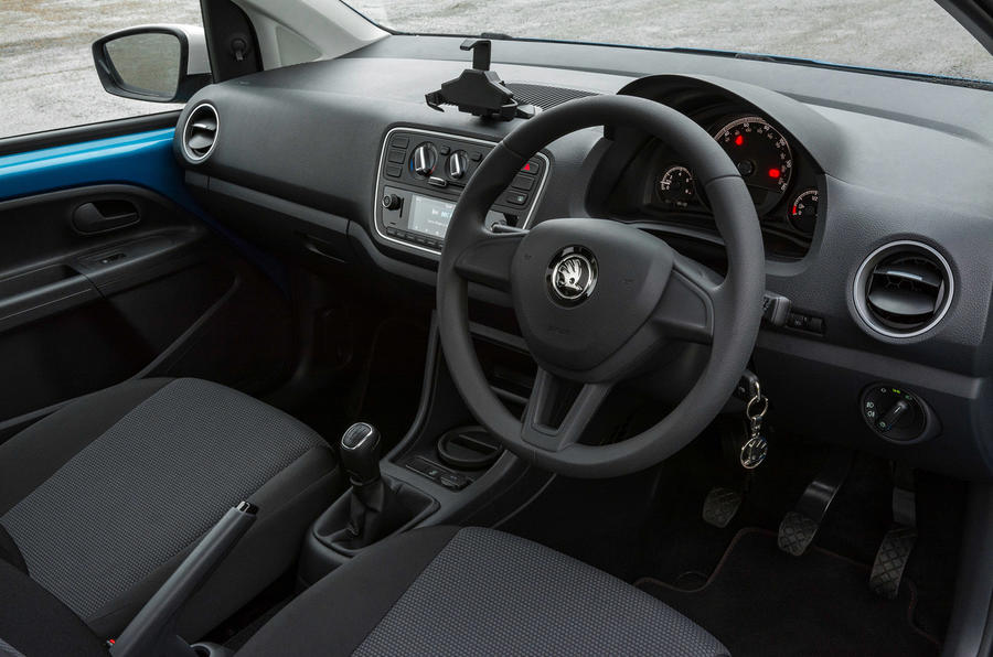 Skoda Citigo 2017 first drive review dashboard