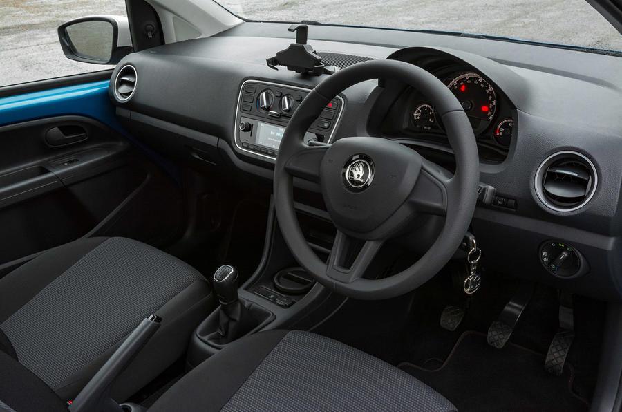Skoda Citigo 2017 first drive review dashboard