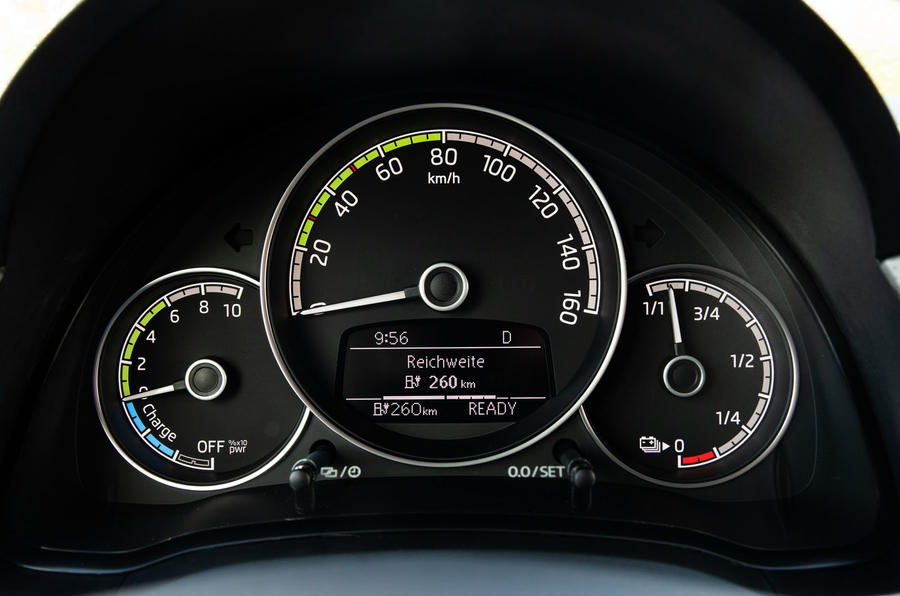 SKoda Citigo-e IV 2020 road test review - instruments