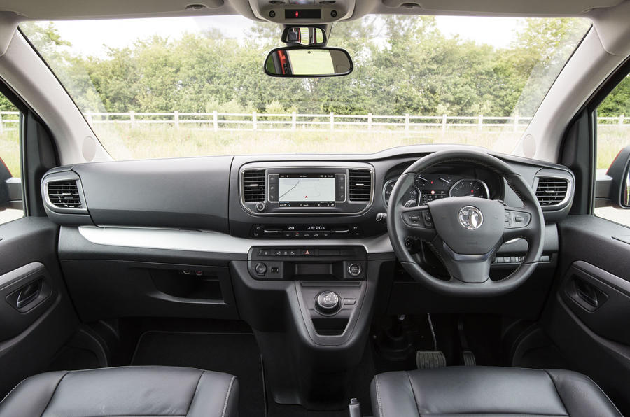 Vauxhall Vivaro Life 2019 road test review - dashboard