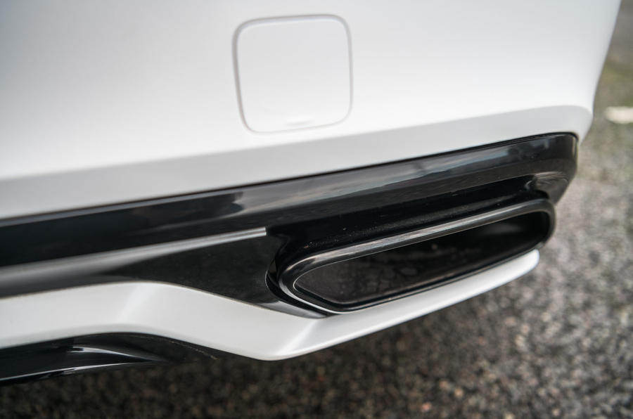 Volvo S60 Polestar Engineered 2020 road test review - exhausts
