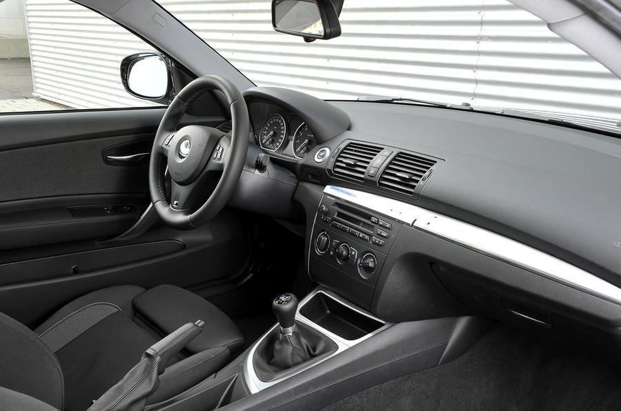 BMW 1 Series M Coupé interior