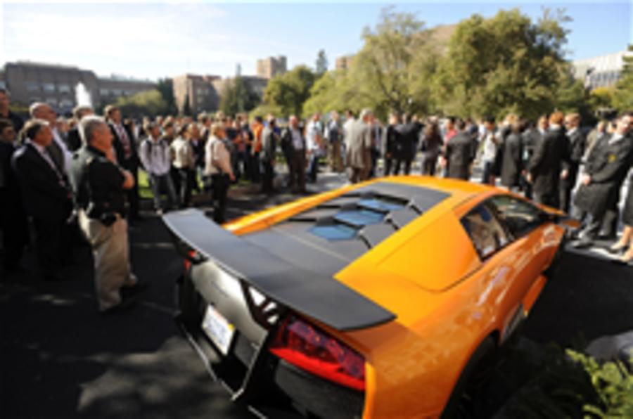Lamborghini funds research lab