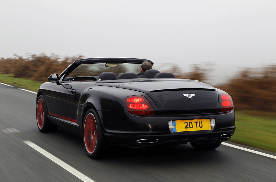Bentley Continental GTC ISR