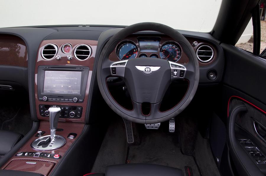 Bentley Continental GTC ISR dashboard