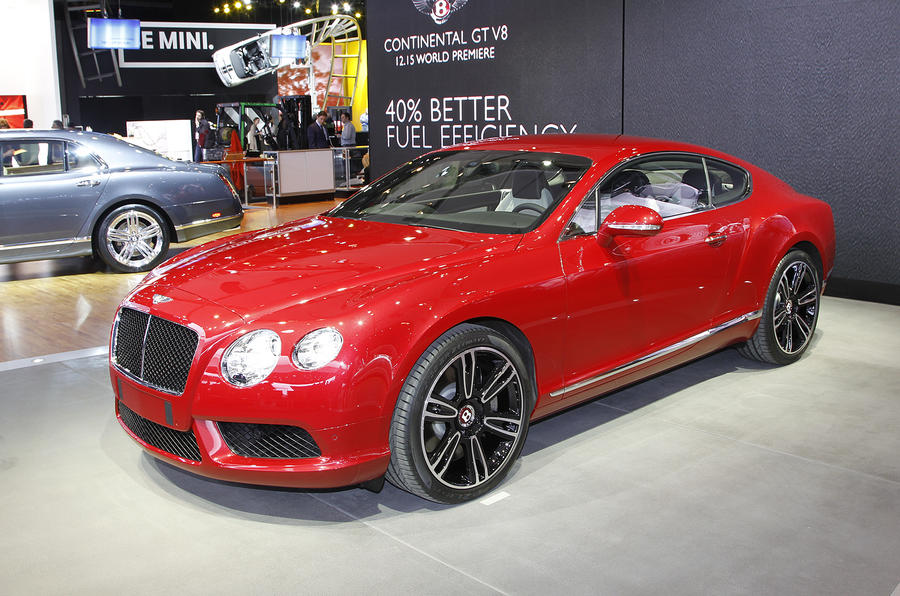 Detroit show: Bentley Continental V8