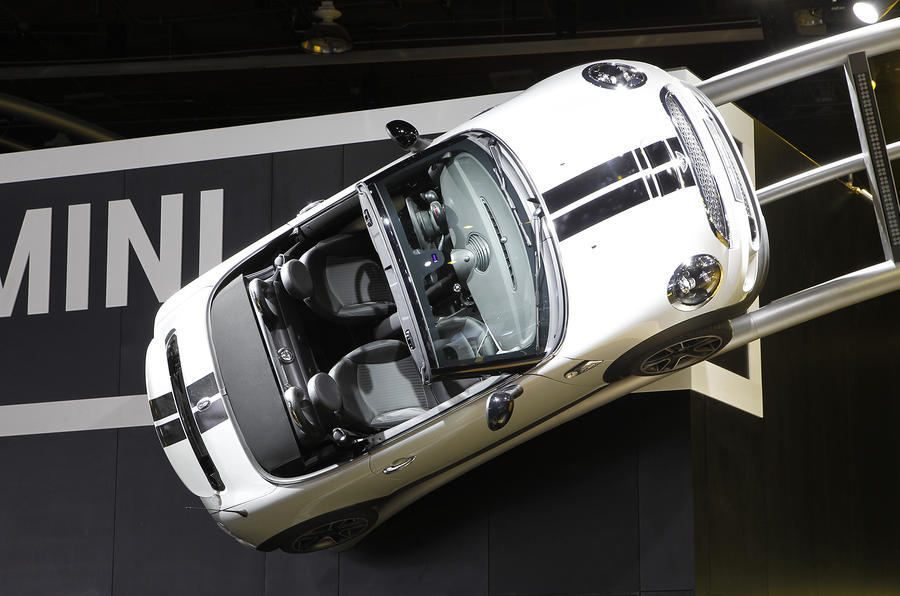 Detroit motor show: Mini Roadster