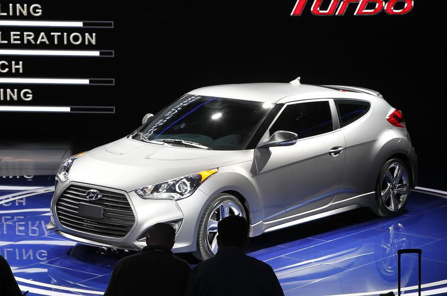 Detroit show: Hyundai Veloster Turbo