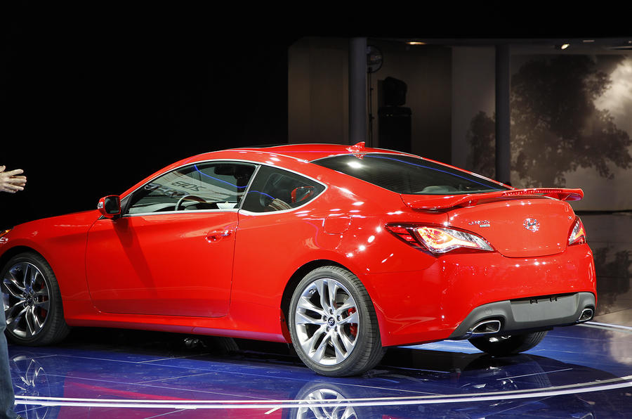 Detroit motor show: Hyundai Genesis