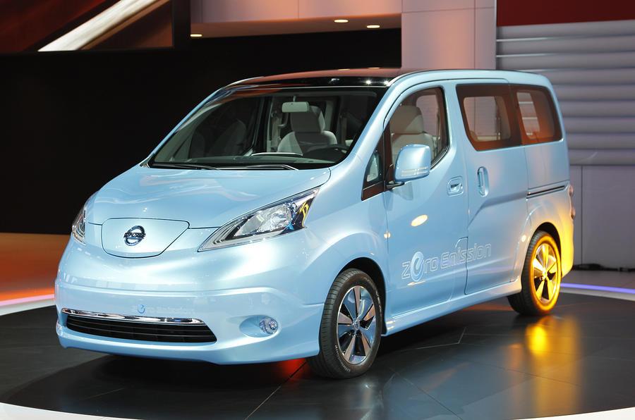 Detroit show: Nissan EV concept van