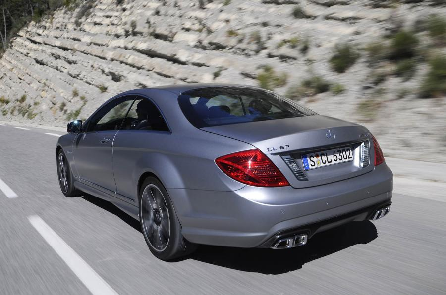 Mercedes-AMG CL 63 rear