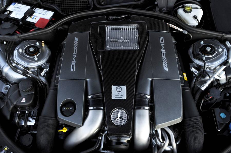 Mercedes-AMG CL 63 5.5-litre V8 engine