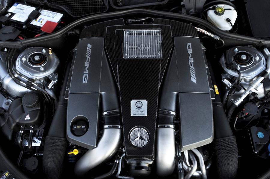 Mercedes-AMG CL 63 5.5-litre V8 engine