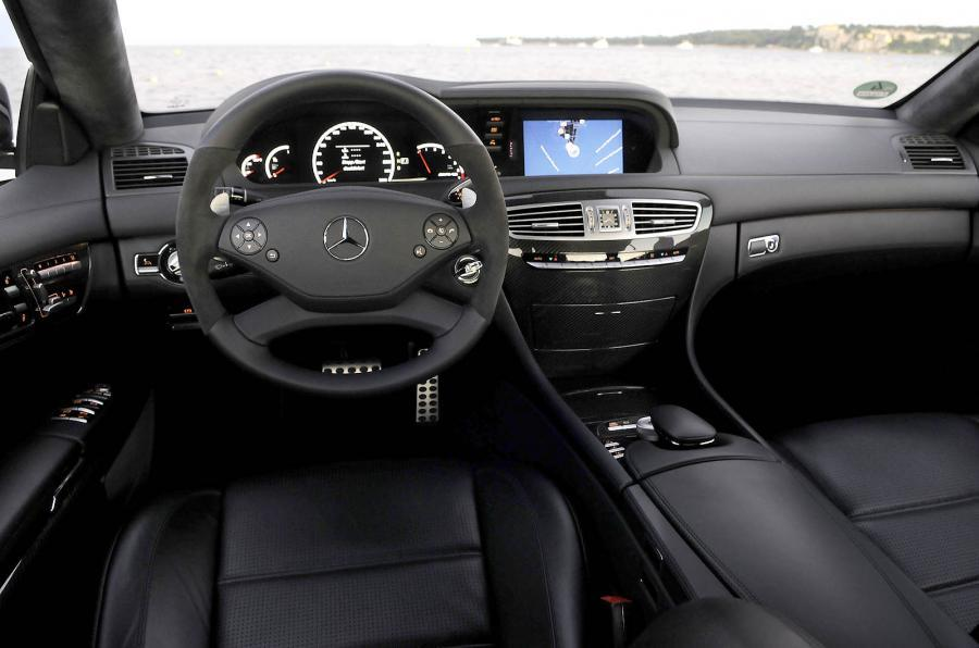 Mercedes-AMG CL 63 dashboard