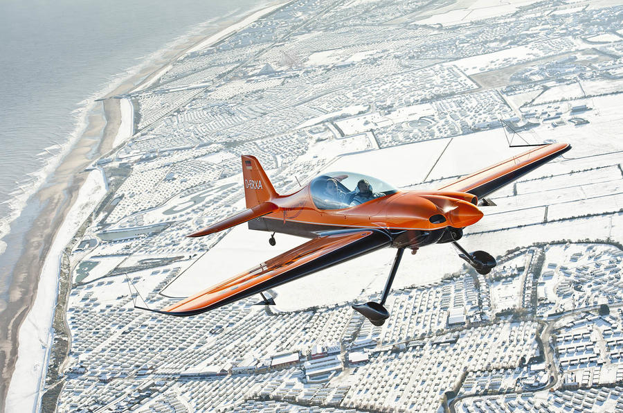 Christmas road test: stunt plane