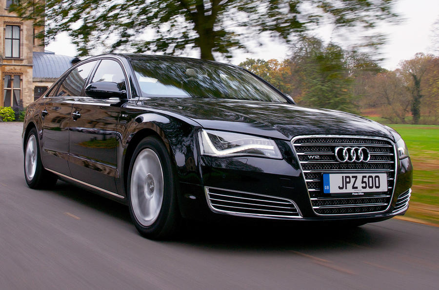 Audi a8 w12: power and luxury