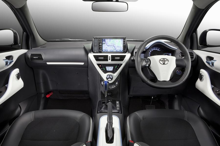 Toyota FT-EV III dashboard