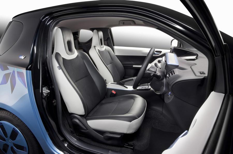Toyota FT-EV III interior