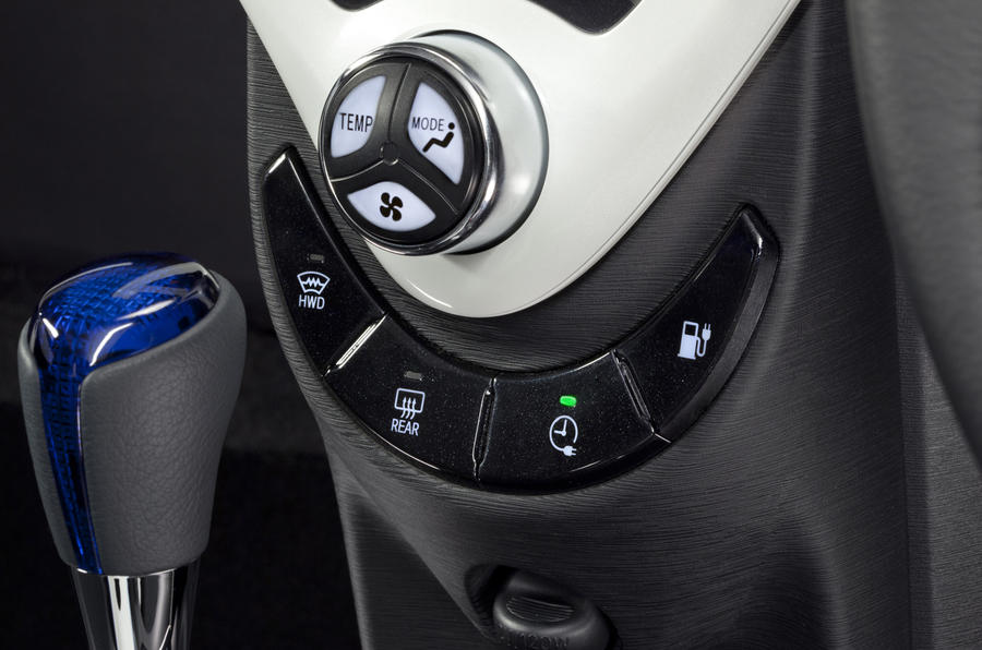 Toyota FT-EV III centre console