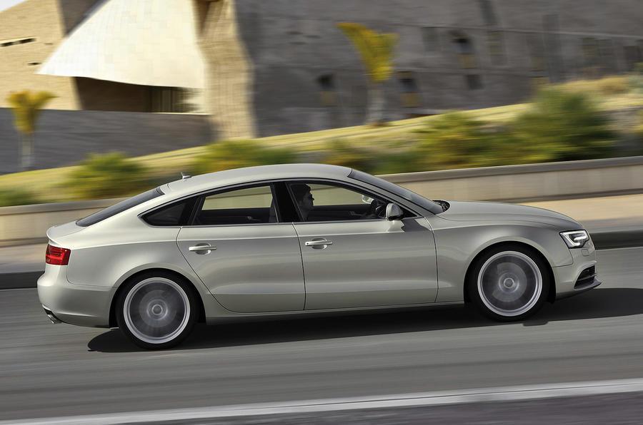 Audi A5 Sportback side profile