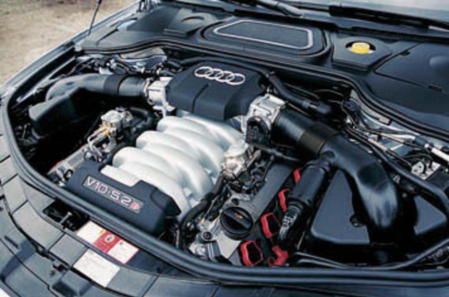 audi s8 2008 двигатель lamborghini