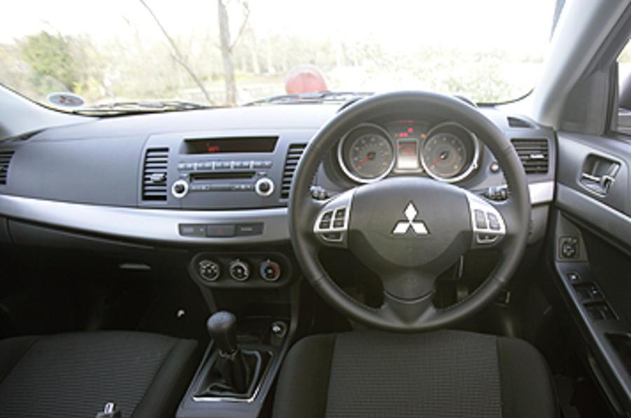 mitsubishi lancer sportback 1 8 review autocar. Black Bedroom Furniture Sets. Home Design Ideas