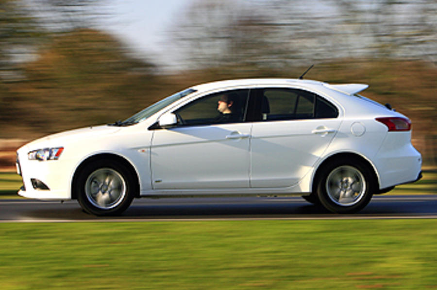 mitsubishi lancer sportback 1 8 review autocar. Black Bedroom Furniture Sets. Home Design Ideas