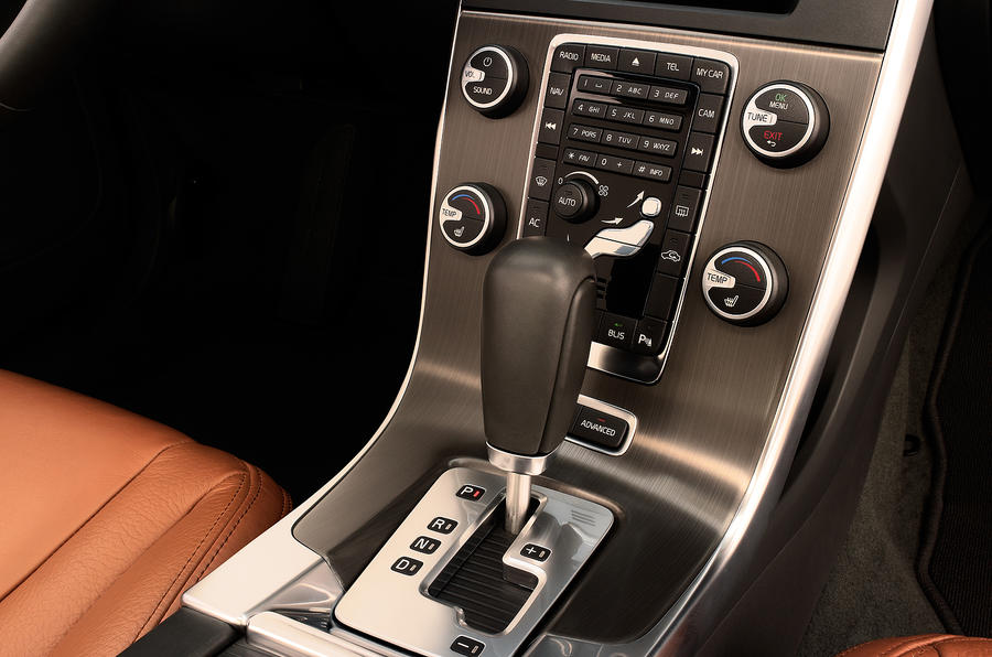 Volvo S60 T6 automatic gearbox