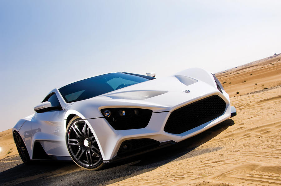 The 1104bhp Zenvo ST1