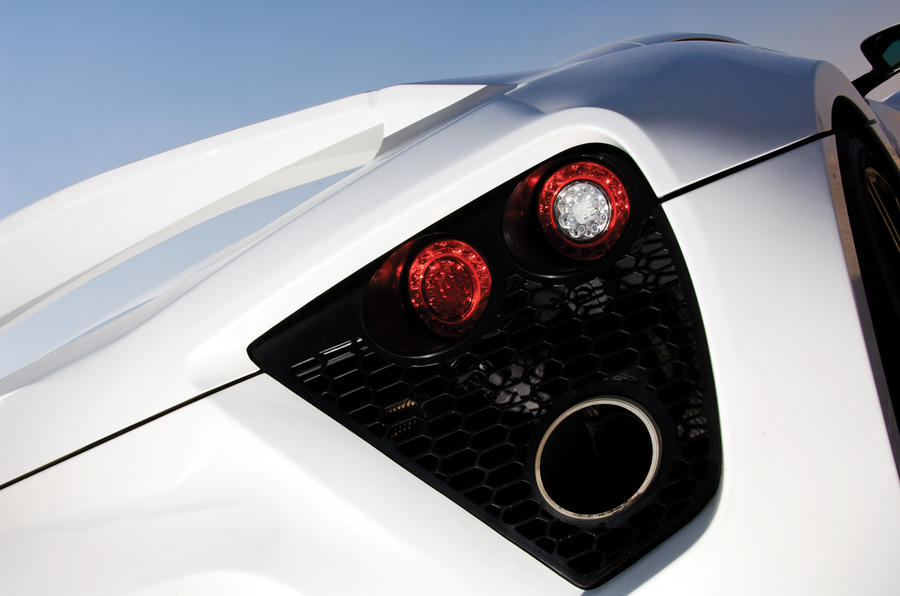 Zenvo ST1 rear lights