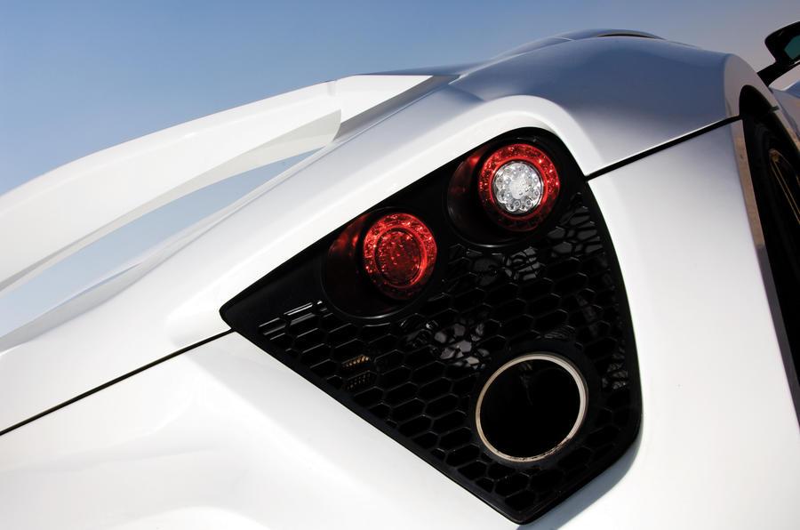 Zenvo ST1 rear lights
