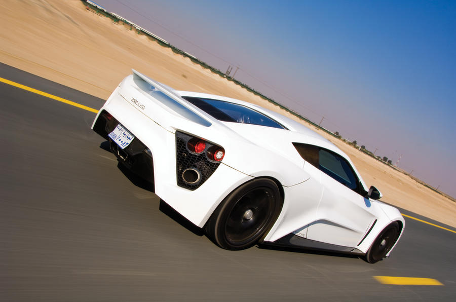 Zenvo ST1 rear quarter