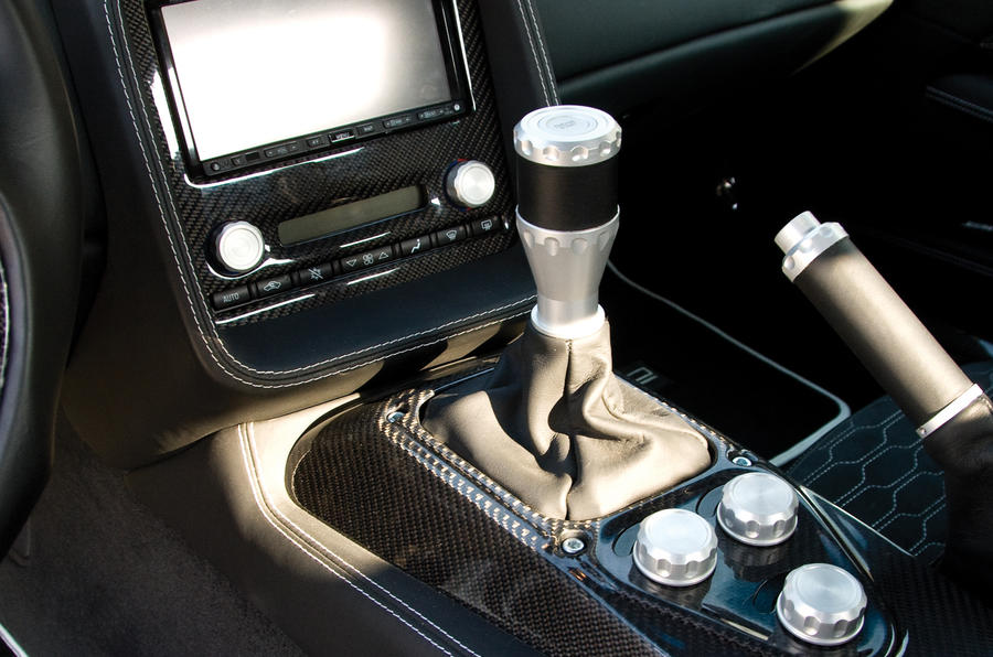 Zenvo ST1 manual gearbox