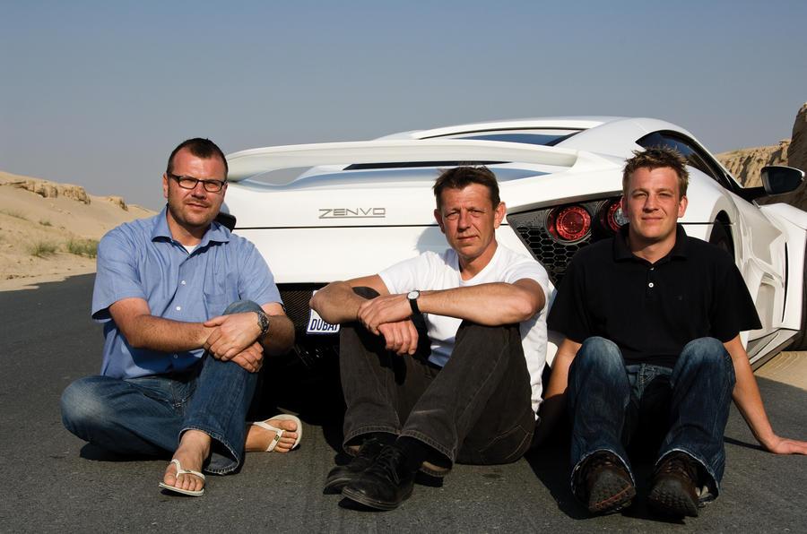 Zenvo ST1 company founders