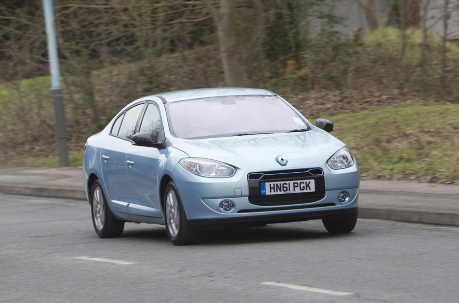 Renault Fluence ZE electric