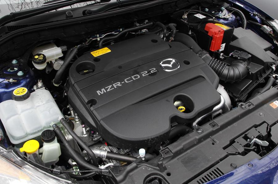 2.2-litre Mazda 3 diesel engine