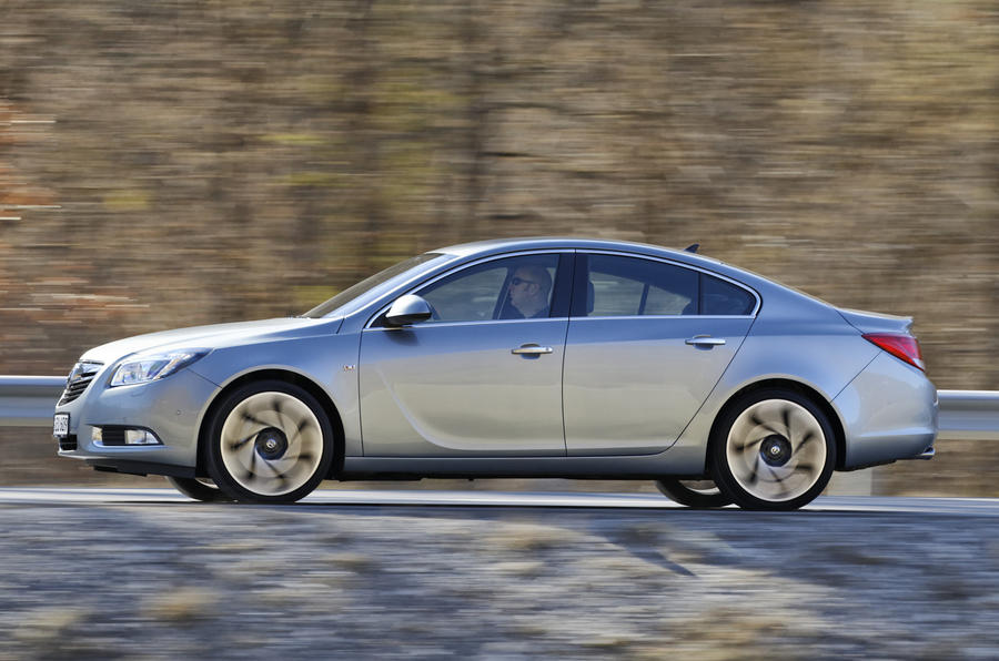 Vauxhall Insignia side profile