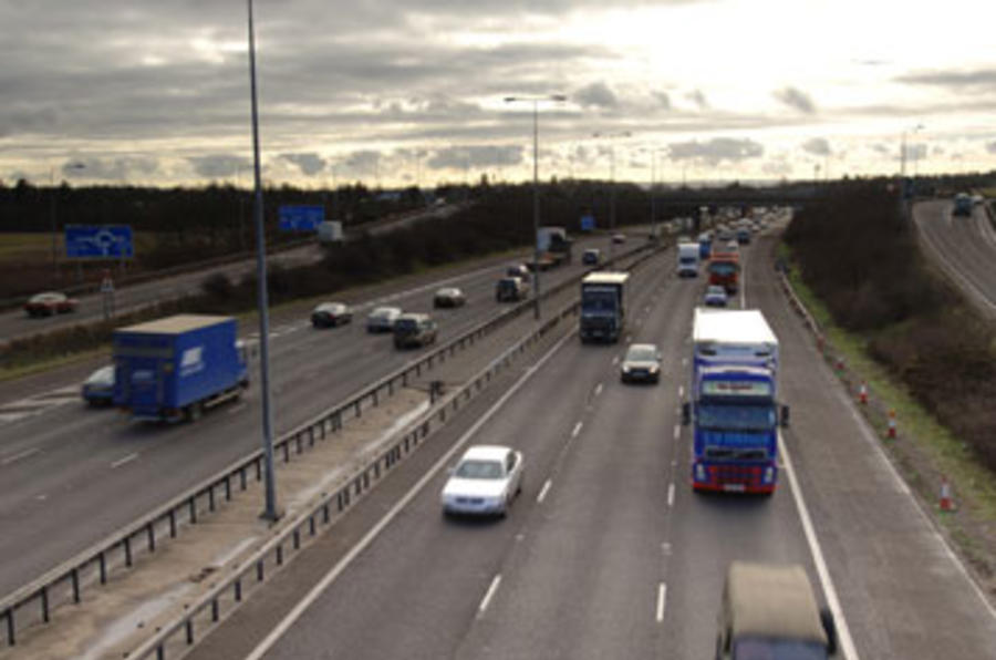 HGVs face motorway restrictions